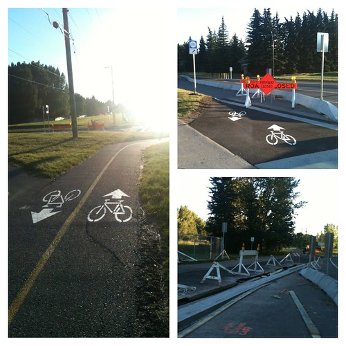 Crowchild Trail Cycle Track