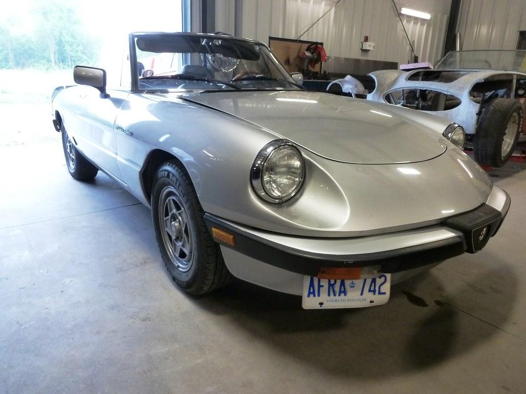 Project 1984 alfa romeo spider veloce wicked garage inc for Garage alfa romeo villeneuve d ascq