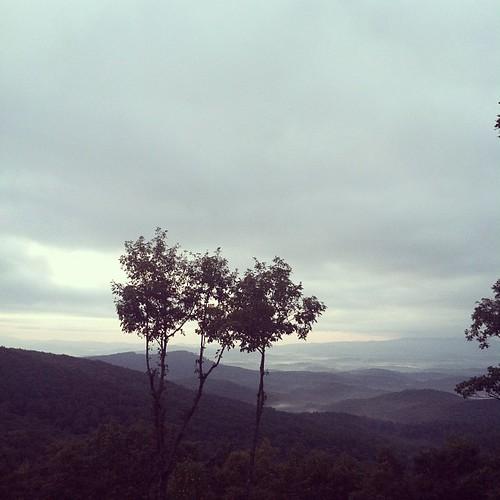 good morning ☀☁ #hickscabintrip12