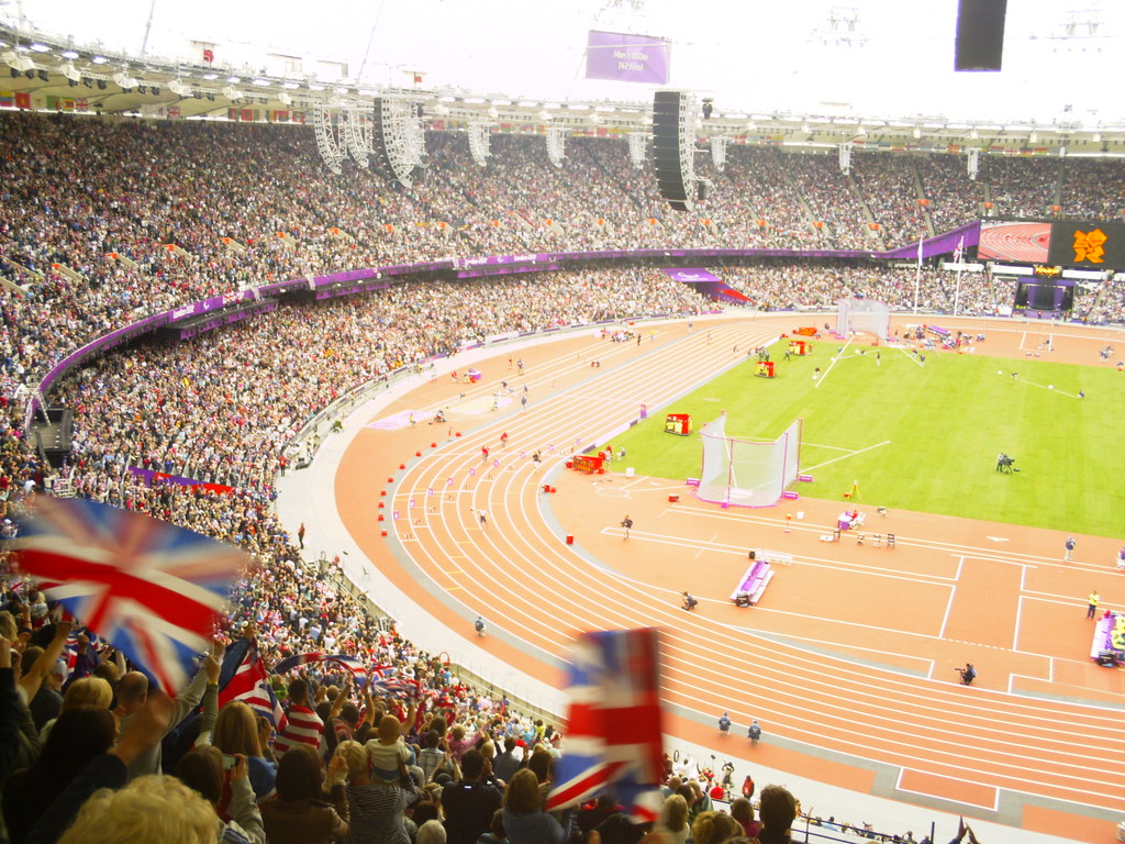 Full house at the London 2012 Paralympics.