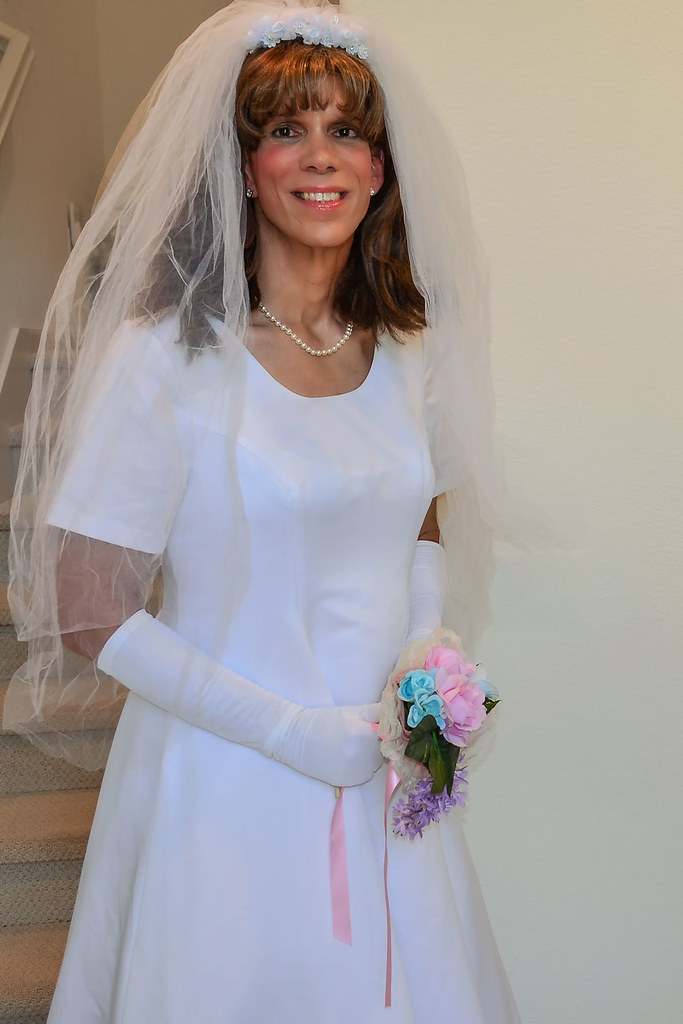 Flickr Crossdresser Wedding Dress