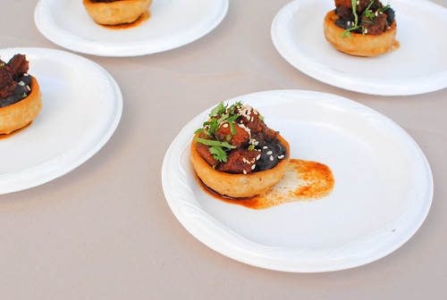 Red O pork belly sopes