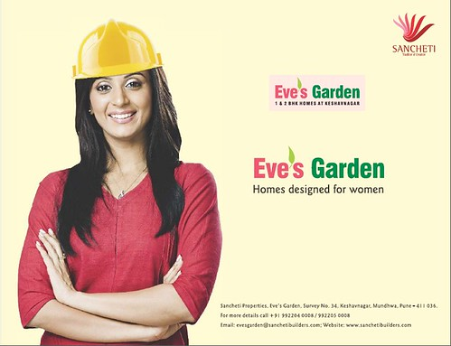 Eve's Garden - 1 and 2 BHK Apartments at Survey No 34, Keshavnagar, Mundhwa, Pune - 411036 by Sancheti Properties by jungle_concrete