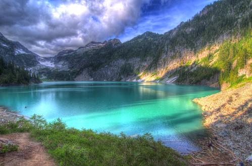 Blanca Lake HDR