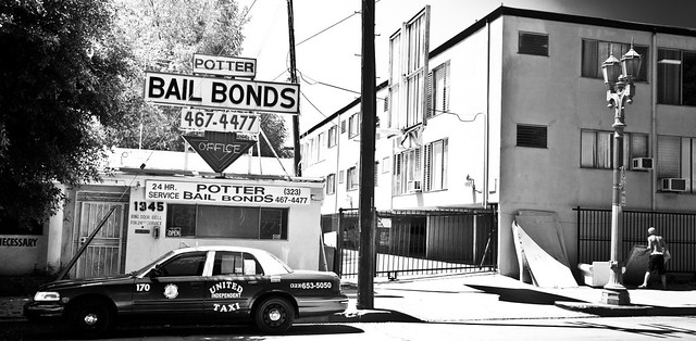 LA bail bond shop