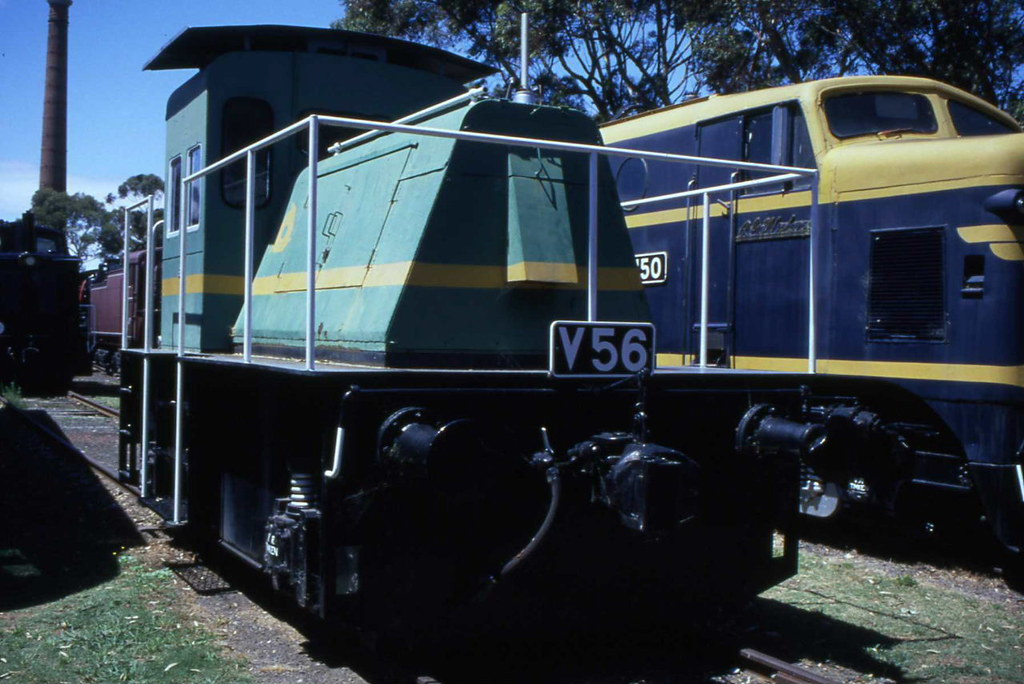 Victorian Railways V56 Williamstown 30.01.2000 by Andy Cole