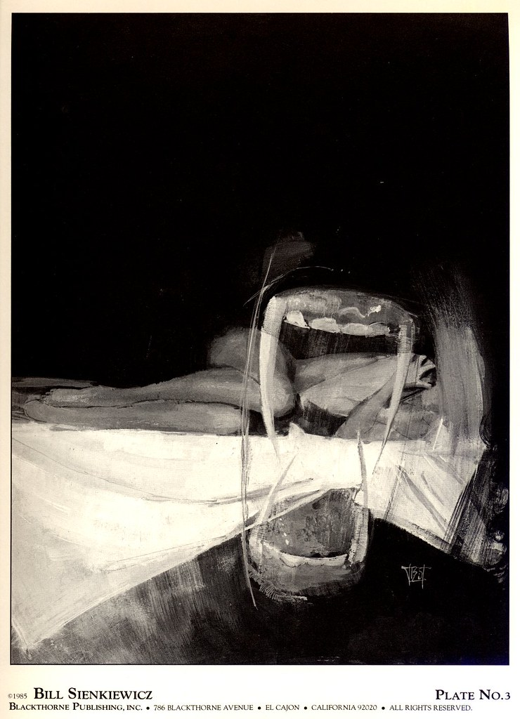 Bill Sienkiewicz - Vampyres 2 (Blackthorne Publishing, Inc 1985) Plate 3