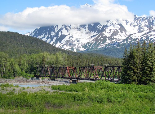 Alaskan Railroad Bridge