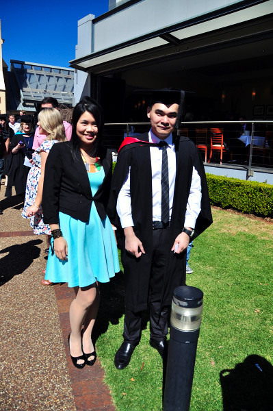 USQ Graduation Ceremony 2012 at Empire Theatre