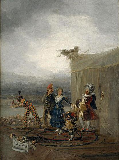 Cómicos ambulantes de Goya NO está en la expo del Grand Palais Uti