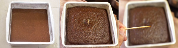 Moist Chocolate Cake - Step3