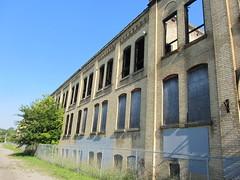 Abandoned factory on Greenwich Street, Brantford