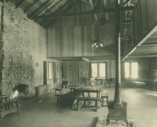 Halona Lodge in Idyllwild soon after it was built in 1931