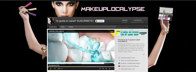 Fondo Canal YouTube Maquillaje