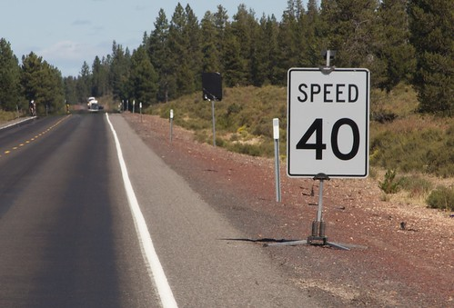 Highway 97 on Cycle Oregon
