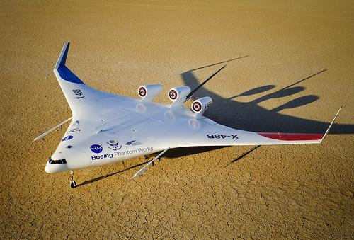 NASA Boeing X-48