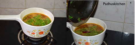 Pepper rasam for cold