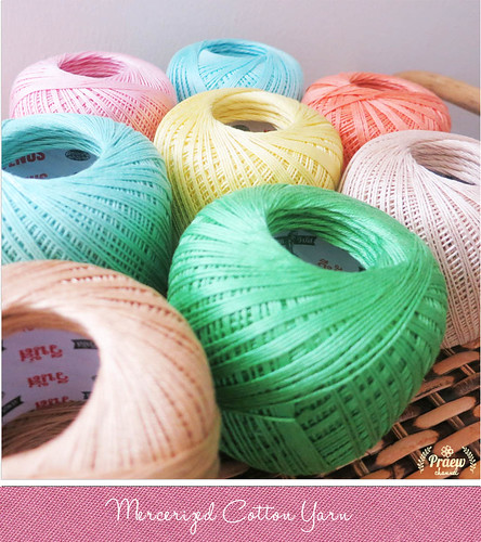 Mercerized Cotton Yarn