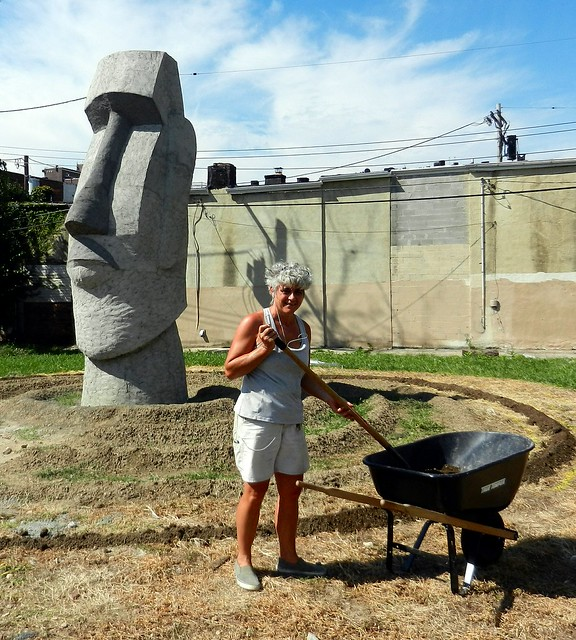 """Easter Island Monolith comes to Baltimore"""