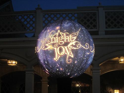 Night of Joy booth locator