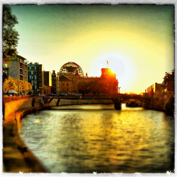 Spree Sunset.