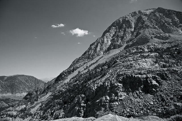 Tioga Pass Monochrome