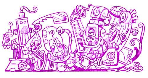Robots'Gang by Moise-Creativo Galattico