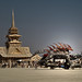 Burning Man 2012 - Juno Temple / Dragon Art Car by Santi-Jose
