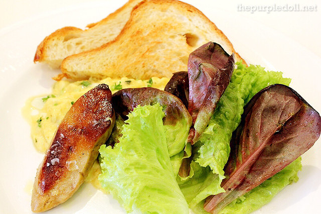 Pan-Fried Foie Gras P365