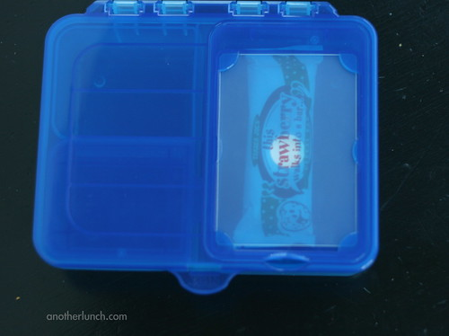 Gerber box, snack cubby