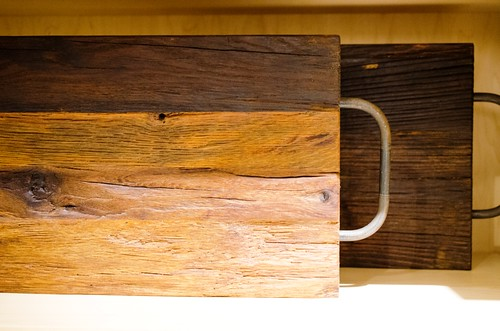 Gorgeous 19th century reclaimed wooden serving boards