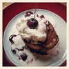 Black Forest pancakes #cottagefare #brunch #yum