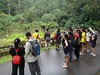 Southern Ridges Walk with Otterman's Life Sciences Students