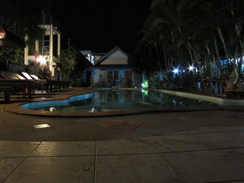 Piscina Hotel Kanchanaburi