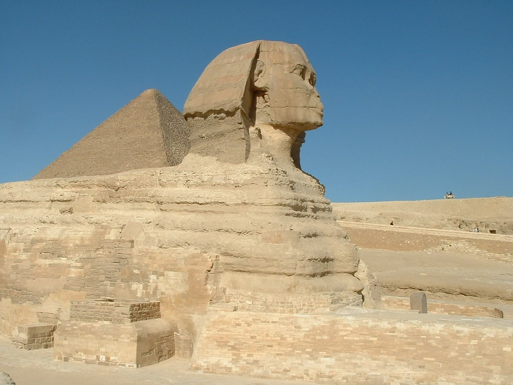 Sphinx at Giza