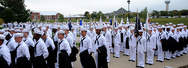 Great Lakes Navy Boot Camp Graduation
