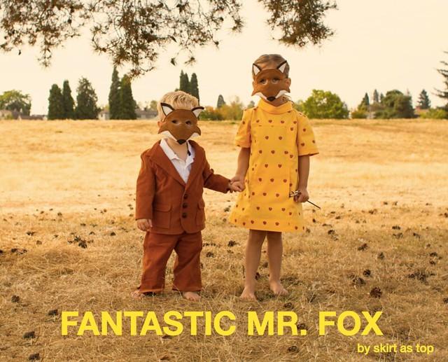 Film Petit Fantastic Mr And Mrs Fox Skirt As Top