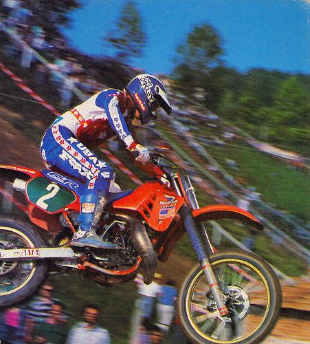 Rick Johnson 1986 Motocross des Nations