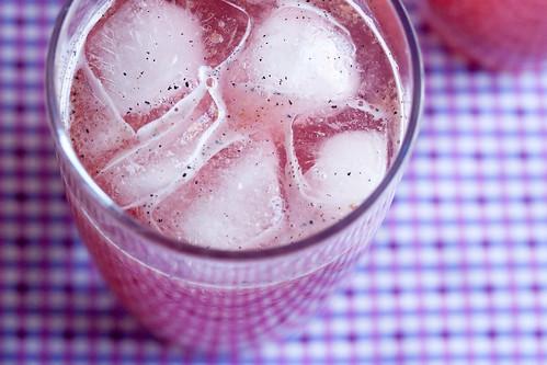 Plum Vanilla Soda