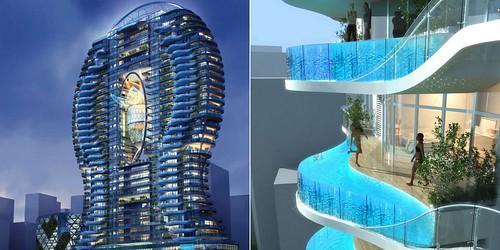 Piscinas en terrazas construccin extrema espacios vives for Terrazas novedosas