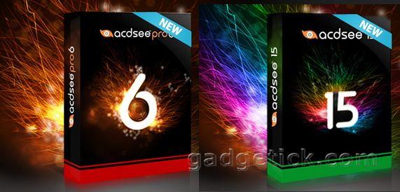 ACDSee Pro 6 и ACDSee 15