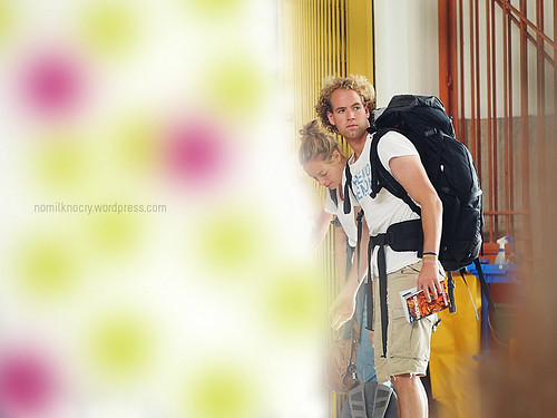backpackers…