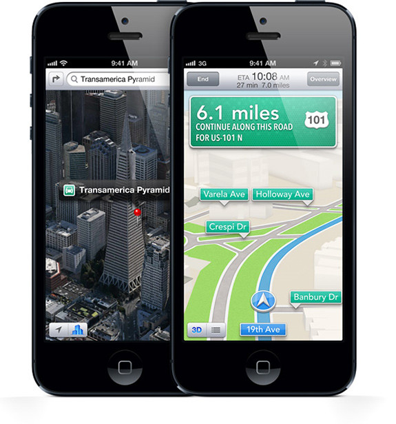 Unlock iOS 6 Maps: Navegación turn by turn para iPhone 4 y 3GS