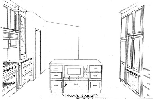 kitchen plan 1 - side view 6