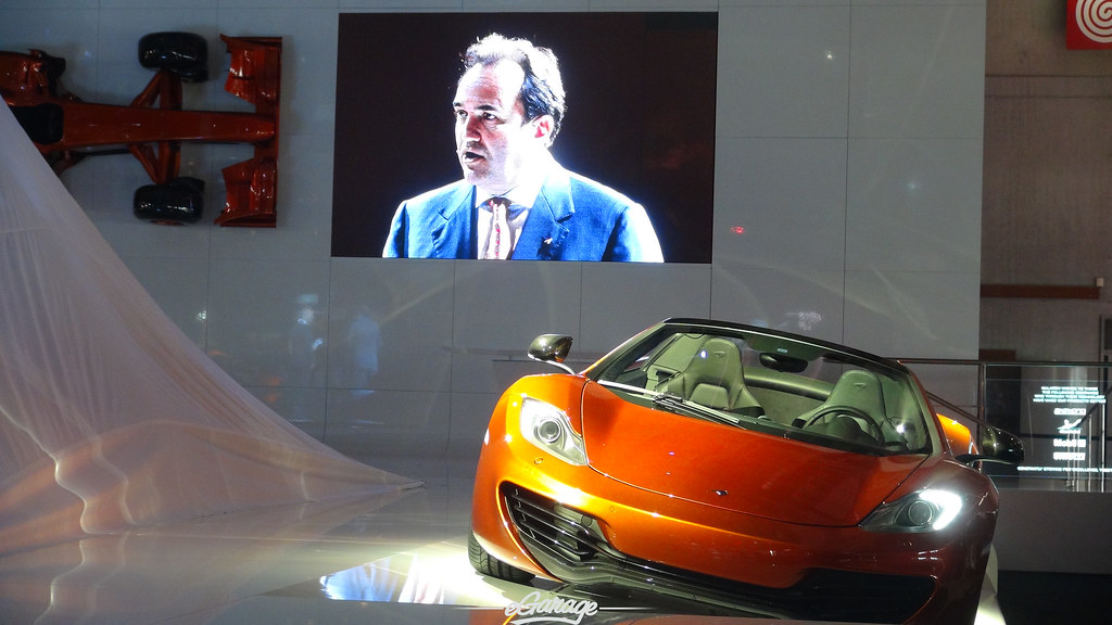 8030426973 d167e1e236 b eGarage Paris Motor Show Mclaren Mp4 12C Spider