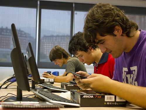 Alumnos del ciclo de informática
