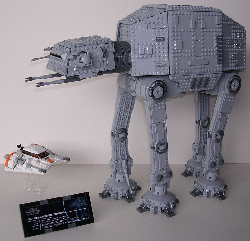 Moc Ucs At At Lego Star Wars Eurobricks Forums
