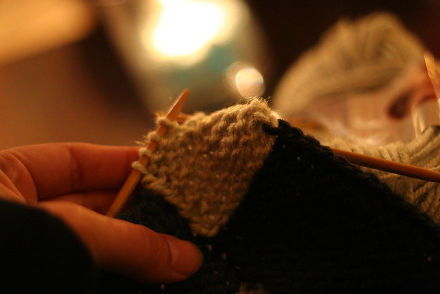 rock n' roll knitting