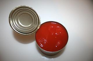 06 - Zutat geschälte Tomaten / Ingredient peeled tomatoes
