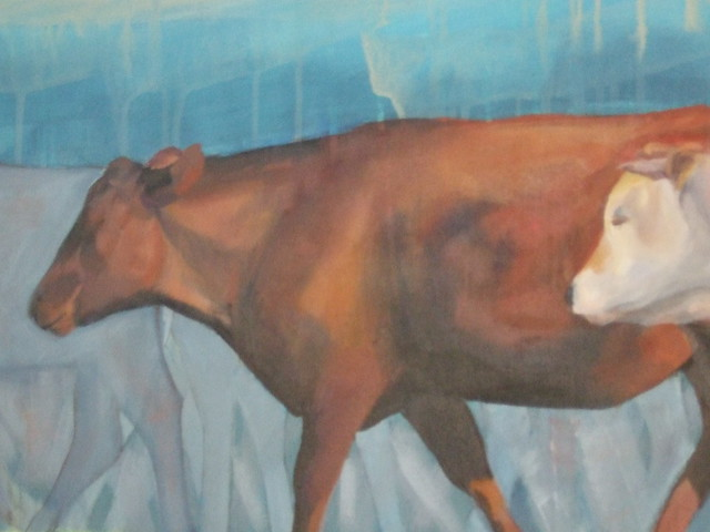 Litherland 2 cows